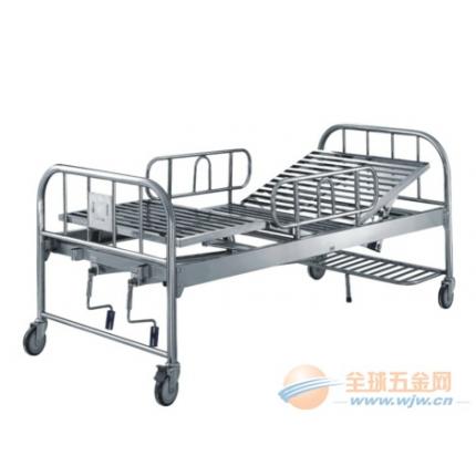 医用不锈钢床 不锈钢病床 医用护理床