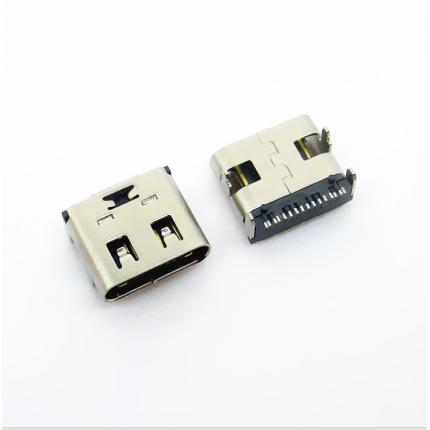 USB 3.1 type 母座 单排贴16PIN 环保耐温
