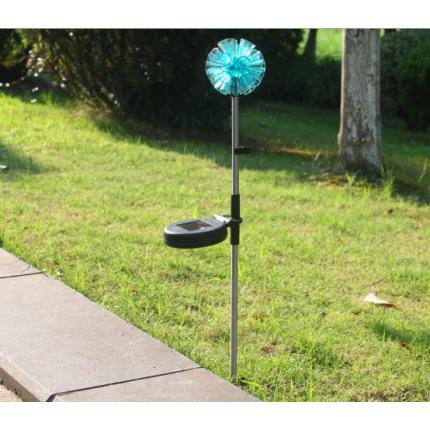 防水迷你太阳能草坪地插灯户外LED灯装饰节能氛围小路灯