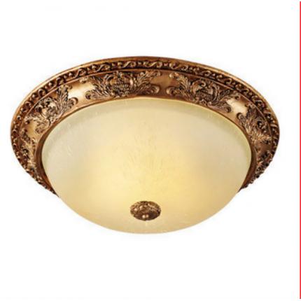 复古欧式圆形LED卧室灯美式楼梯过道灯玄关阳台客厅吸顶灯
