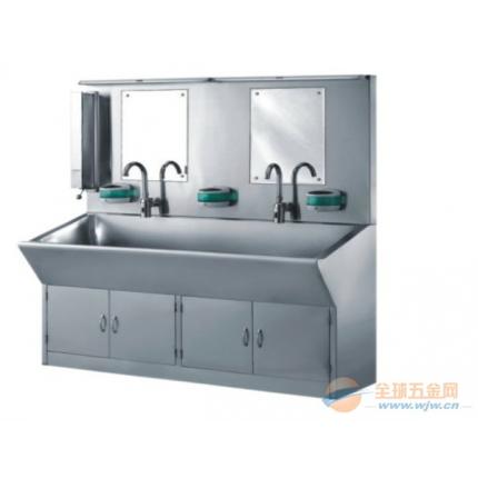 不锈钢自动感应洗手槽 医用洗手槽 手术室洗手槽