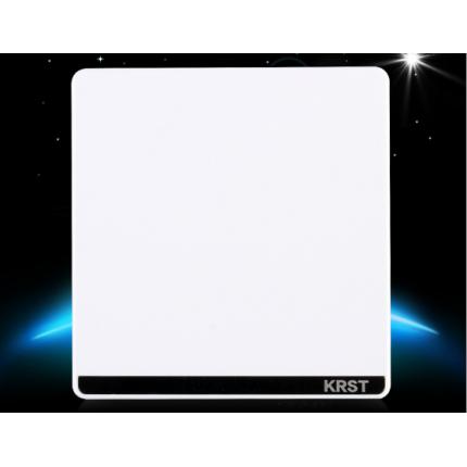 86型 暗装 开关大板玉致白 墙壁开关插座 空白面板 白板