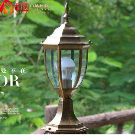 欧式柱头防水庭院围墙灯led户外花园小区别墅景观照明