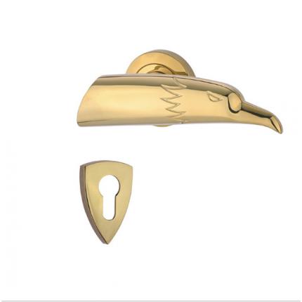 选用高强度材料精品舒庭锁机械门锁防盗锁把手