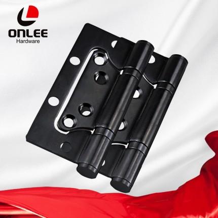 欧立黑色不锈钢轴承合页铰链4寸合页折叠铰链一片装门锁配件