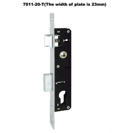 锁体7011-20-T(塑钢门锁体)