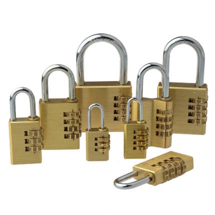 铜锁挂锁CJSJ铜密码挂锁 信箱锁密码锁纯铜CH-04E