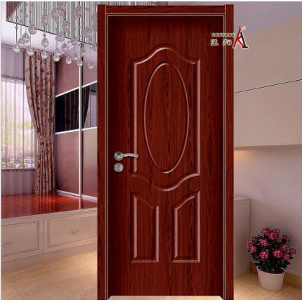 木门强化实木复合室内木门 烤漆木门 红木门 #LY-8001