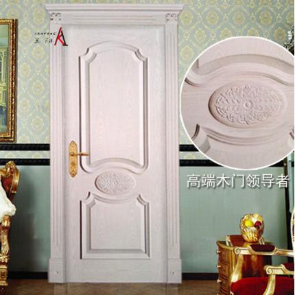兰阳高档实木复合门高端装修用门烤漆木门品牌实木门LY-050