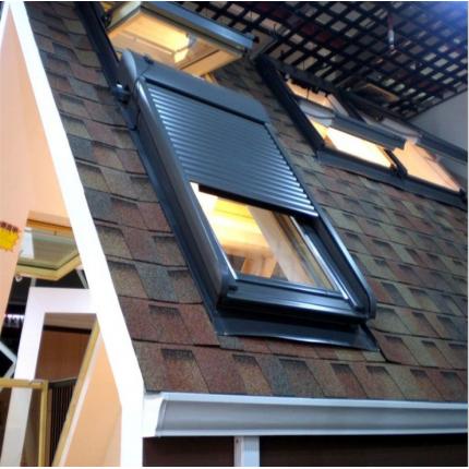 固定式斜屋顶天窗 别墅天窗 实木窗