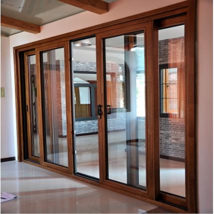 华墅建材 高档木铝复合门窗 断桥铝门窗 别墅实木窗 隔音门窗