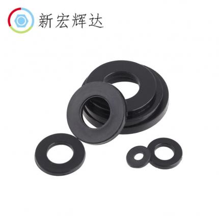 塑胶垫片塑料黑色尼龙平垫