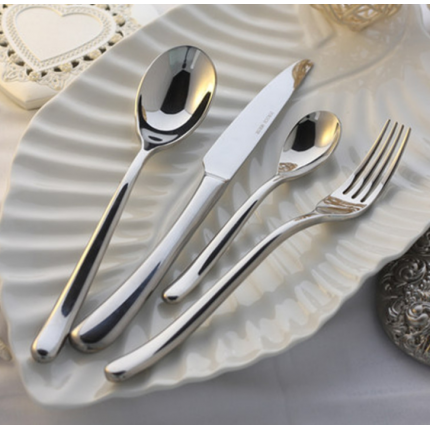 高档法国月光系列不锈钢刀叉不锈钢餐具牛排刀叉勺子西餐刀叉