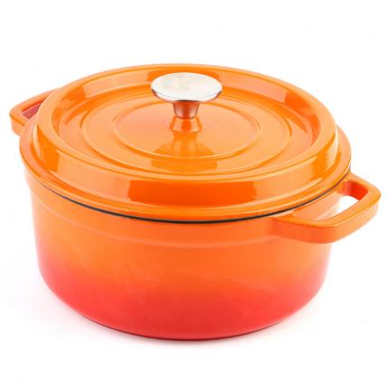 炊具 珐琅铸铁锅 电磁炉汤锅 珐琅搪瓷铁锅