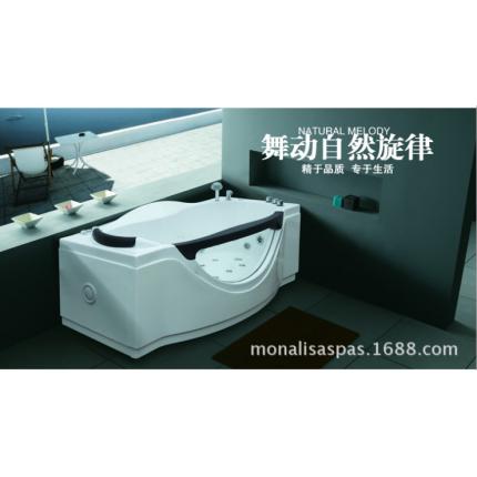1.8米按摩浴缸正品冲浪浴缸单人亚克力浴缸M-2055