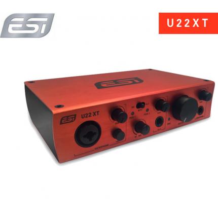 U22XT 2进2出专业声卡外置USB声卡
