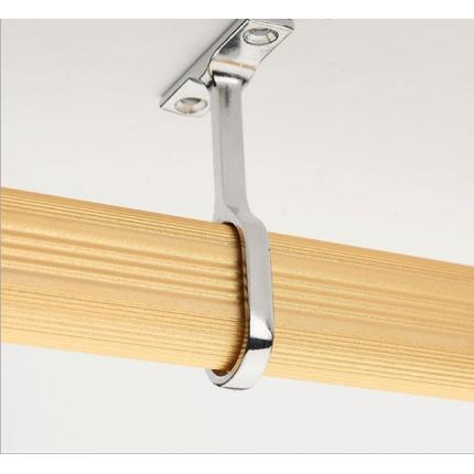加厚 不断裂衣柜挂衣杆 法兰座 衣橱杆衣通杆衣柜配件衣杆托