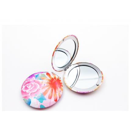 圆形印花镜