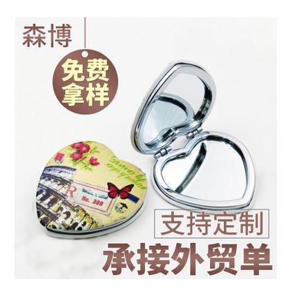 炫彩心形镜铝塑镜