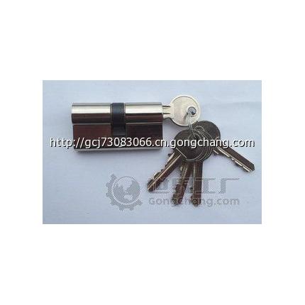 欧标插芯门锁全铜锁芯