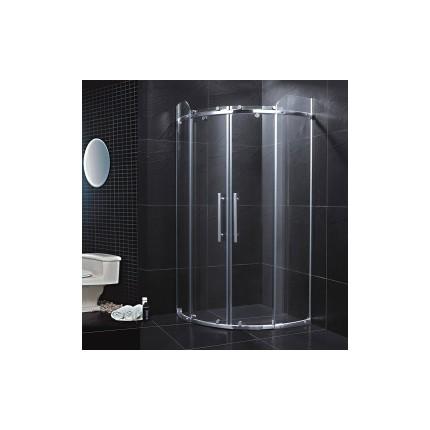 佛山卫浴出口玻璃淋浴房扇弧形淋浴设备