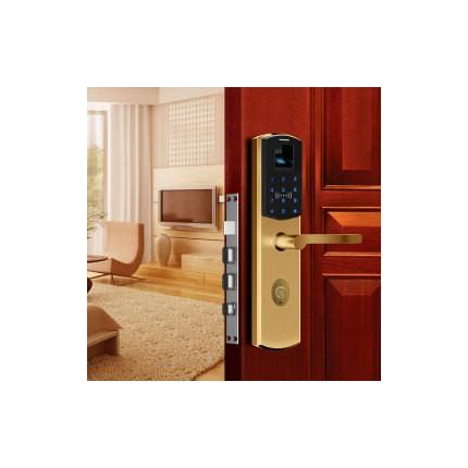 放龙科技指纹锁密码锁刷卡锁J12