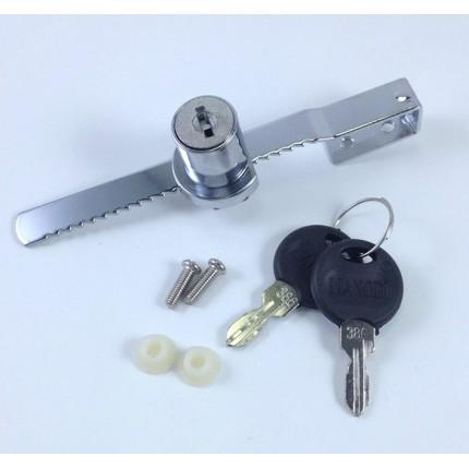 上田金属厂家直销328橱窗锁 玻璃柜锁 商场展厅橱柜锁