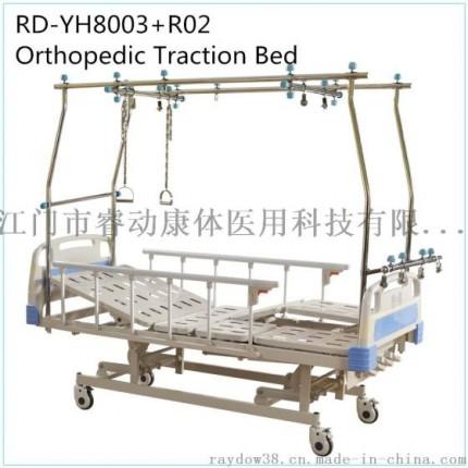 睿动 RD-YH8003+R02 厂家直销 不锈钢龙门架 多功能手摇骨科牵引床