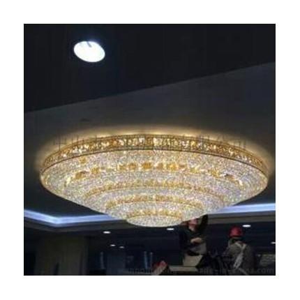 万柏承接酒店灯饰工程定制 灯饰设计方案 大型水晶灯定做