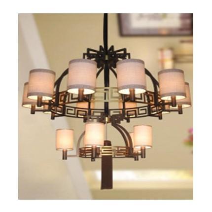 新中式灯具铁艺吊灯,酒店会所,高档茶楼 chandelier lighting