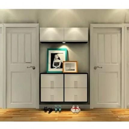 同和源木门直供HF-8192中式简约原木门/新款实木门/环保烤漆门