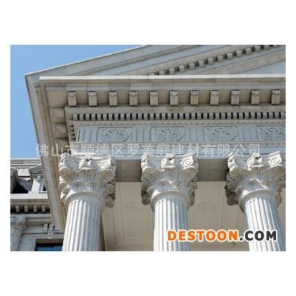 GRC建材 精品欧式罗马柱水泥构件 EPS建材 佛山直销