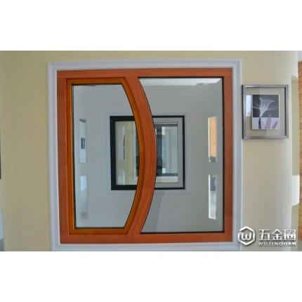 大港别墅高端无缝焊接铝包木门窗无缝焊接铝木门窗