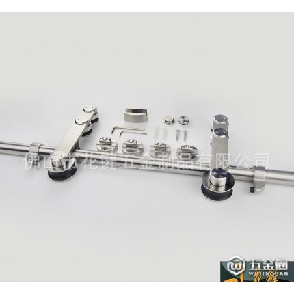 POM胶轮不锈钢五金吊轮门窗配件含8个镍以上304