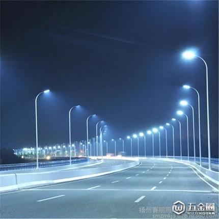 【赛明】厂价推出普通道路照明灯 双臂高低臂灯杆 路灯 中杆灯 高杆灯 太阳能路灯品种全 款式新颖 价格低 服务好