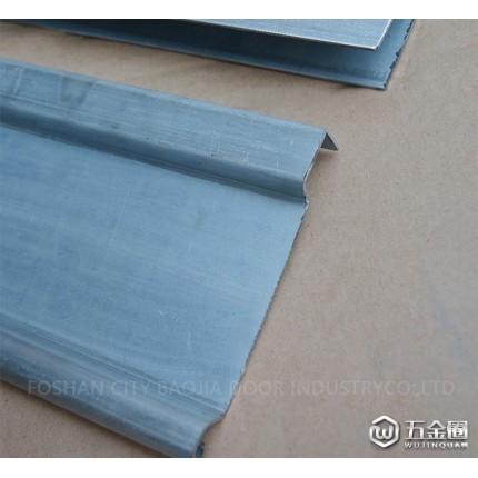 佛山厂家直销卷帘门配件出口系列底梁片导槽品质保证专业定制门窗配件