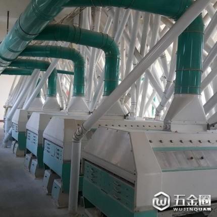 双帆机械  新型磨面粉机加工设备 面粉设备  大型石磨面粉加工成套设备批发石磨面粉机组商用100型号