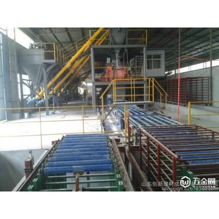 供应玻镁板机械,防火制板机,秸秆板制板机