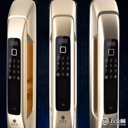一咕S999智能锁 旗舰豪华指纹锁 智能锁 别墅锁 防盗门指纹锁厂家。