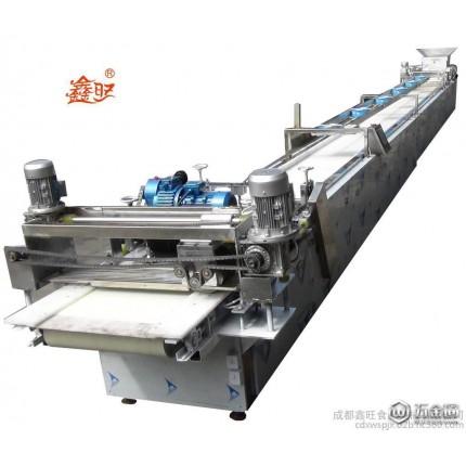 鑫旺机械 成都厂家供应特价 可调 定制xwjx-a15全自动沙琪玛成型切块机械 尺寸可调 休闲食品加工设备 食品机械