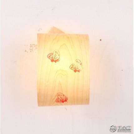 墙壁面点睛的木木材饰品,墙壁照明 木制装饰照明。墙壁照明饰品,无需安装墙面LED照明装饰件,免安装墙面木制照明装饰灯具。