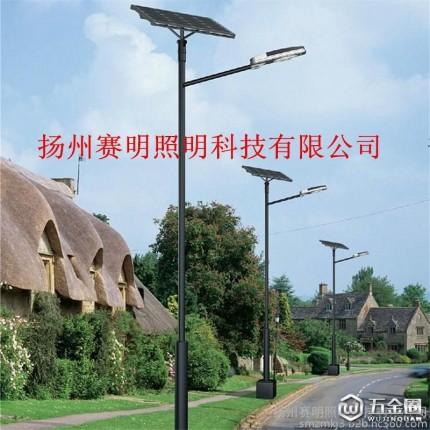【赛明】厂家直销各种太阳能路灯 LED太阳能路灯 太阳能路灯杆 太阳能道路照明灯 6米 7米 8米 Q235材质