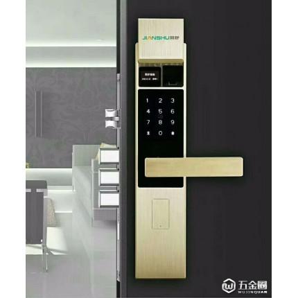 简舒 河南s006指纹锁厂家,304不锈钢锁体C级锁芯指纹锁,滑盖指纹锁,办公室指纹锁,手机APP指纹锁