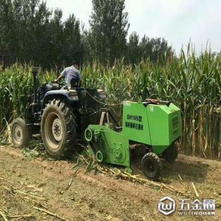 山东杜宇机械 小型玉米秸秆青储黄储粉碎收割打捆一体机 165型玉米秸秆收割打捆机一体机