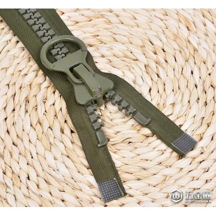拉链直销 30#树脂开尾 30#塑料 家纺服装拉锁