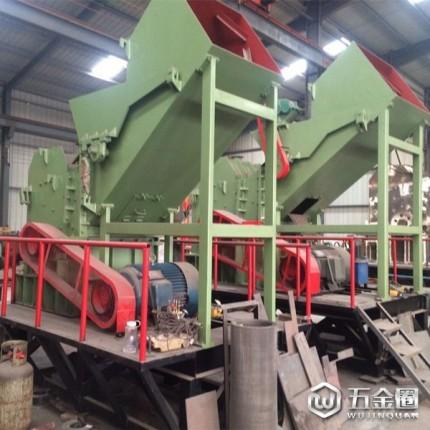 众泰机械 废钢破碎机 专业的废旧金属粉碎设备