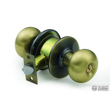供应喜勒5791球型锁 筒式球形锁  球形锁厂家 机械门锁 五金锁具
