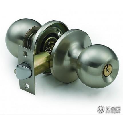 喜勒供应607球型锁  筒式球形锁  机械门锁 五金锁具