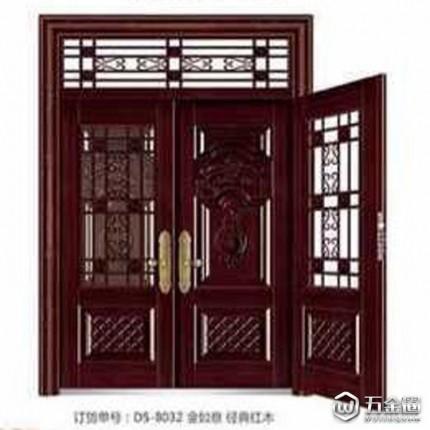 【都市门业】安阳市都市门业  专业门业厂家 复古中式非标防盗门   入户门   对开门