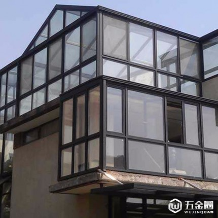 【安徽荆源玻璃】别墅高端玻璃门窗 中空钢化玻璃门窗定制批发